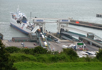 Ferry Terminal at Dover Port